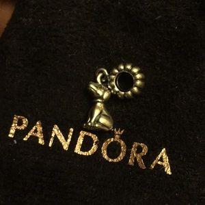 Pandora Sterling Silver Dog Charm